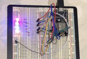 NodeMCU circuit